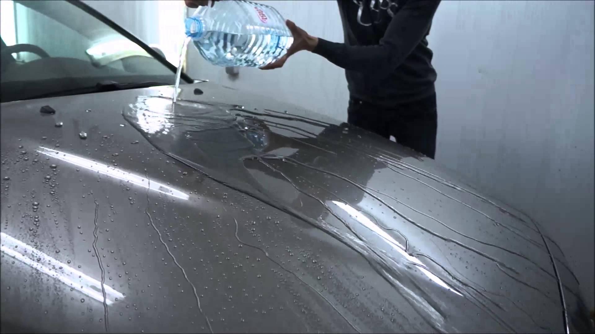 Жидкое стекло для авто своими руками как